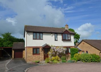 Thumbnail 4 bed detached house for sale in Cypress Close, Honiton