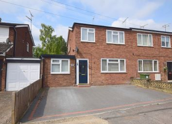 Thumbnail 3 bed semi-detached house for sale in The Elms, Bletchley, Milton Keynes