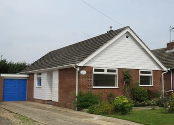 Thumbnail 3 bed detached bungalow for sale in Lodge Close, Holt