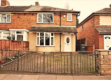 Thumbnail 3 bed terraced house for sale in Binstead Road, Birmingham