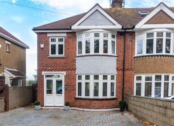 Thumbnail 3 bed semi-detached house for sale in Locarno Avenue, Gillingham