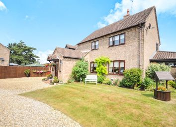 Thumbnail 4 bedroom detached house for sale in Earl Warren, Croxton, Thetford