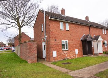 Thumbnail 2 bed semi-detached house for sale in Northumberland Avenue, Scampton, Lincoln