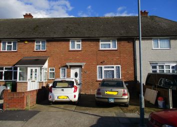 Thumbnail 3 bed terraced house to rent in Kempton Avenue, Hornchurch, Essex