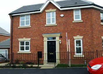 Thumbnail 3 bed semi-detached house to rent in Frost Close, Desborough, Kettering
