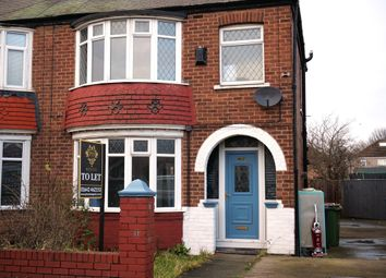 Thumbnail Semi-detached house to rent in Belmont Avenue, South Bank, Middlesbrough