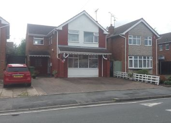 Thumbnail 4 bed detached house for sale in Northumberland Avenue, Nuneaton
