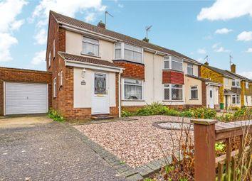 Thumbnail 3 bed semi-detached house for sale in Wittenham Avenue, Tilehurst, Reading, Berkshire