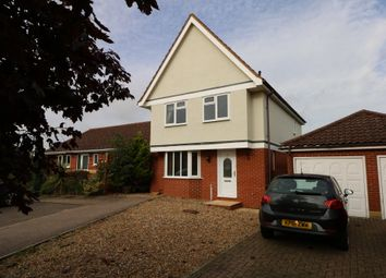 Thumbnail 4 bed detached house to rent in Blackthorn Close, Diss