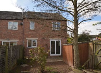 Thumbnail 1 bedroom end terrace house for sale in Mulberry Close, Belmont, Hereford.