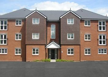 Thumbnail 2 bed flat to rent in Hendeley Court, Burton On Trent