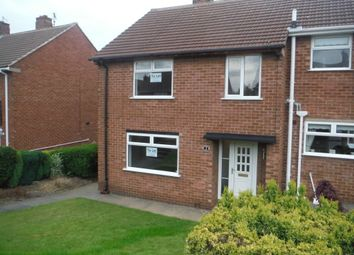 Thumbnail 3 bed semi-detached house to rent in Cordwell Avenue, Chesterfield