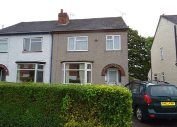 Thumbnail 3 bedroom semi-detached house to rent in Conway Avenue, Coventry