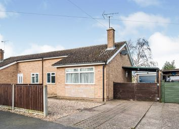 Thumbnail 2 bedroom semi-detached bungalow for sale in Angerstein Close, Weeting, Brandon
