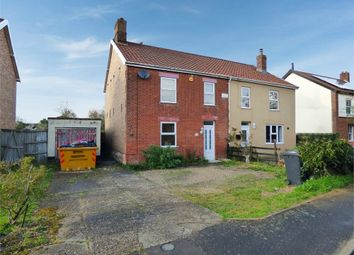 Thumbnail 3 bedroom semi-detached house for sale in Whitehouse Lane, Attleborough, Norfolk