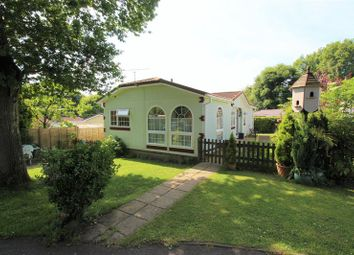 Thumbnail 2 bed mobile/park home for sale in Surrey Hills Residential Park, Boxhill Road, Tadworth
