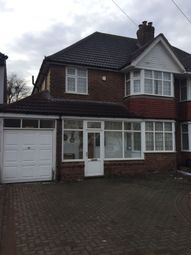 Thumbnail 3 bedroom semi-detached house to rent in Primley Avenue, Birmingham