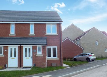 Thumbnail 2 bed semi-detached house for sale in Topcliffe Road, Trowbridge, Wiltshire
