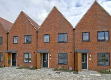 Thumbnail 3 bedroom terraced house for sale in Woodpecker Close, Northstowe, Cambridge