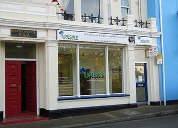 Thumbnail Retail premises to let in 14 Brunswick Place, Brunswick Place, Dawlish, Devon