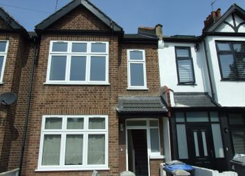 Thumbnail 3 bed terraced house to rent in Franklyn Road, London
