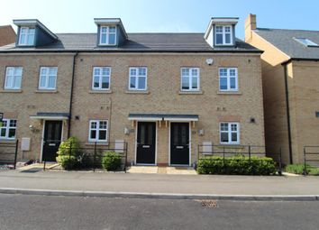 Thumbnail 3 bedroom town house to rent in Summers Hill Drive, Papworth Everard, Cambridge
