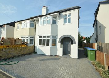 Thumbnail 4 bedroom semi-detached house to rent in Melrose Gardens, Hersham, Walton-On-Thames, Surrey