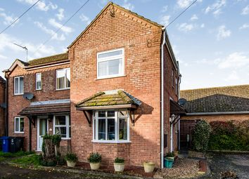 Thumbnail 2 bed semi-detached house for sale in Walnut Court, Ingham, Lincoln, Lincolnshire