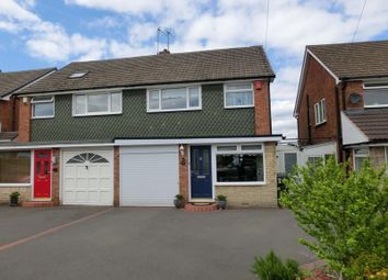Thumbnail 3 bed semi-detached house for sale in Windrush Road, Hollywood, Birmingham