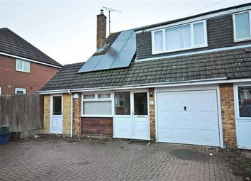 Thumbnail 3 bed semi-detached bungalow for sale in Liddington Way, Kingsthorpe, Northampton