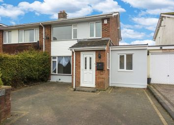 Thumbnail 4 bed semi-detached house for sale in Monksford Drive, Hullbridge, Hockley