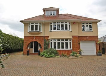 Thumbnail 6 bed detached house for sale in Becton Lane, Barton On Sea, New Milton