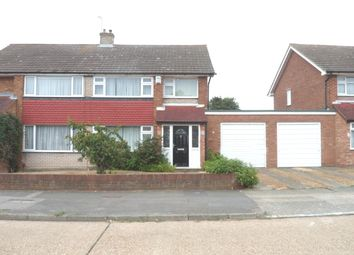 Thumbnail 3 bed semi-detached house to rent in Vigilant Way, Gravesend