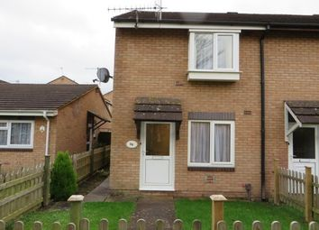 Thumbnail 2 bed end terrace house to rent in Chercombe Close, Newton Abbot