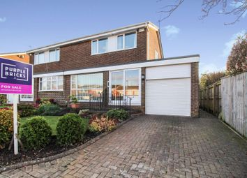 Thumbnail 3 bed semi-detached house for sale in Plenmeller Place, Sunniside