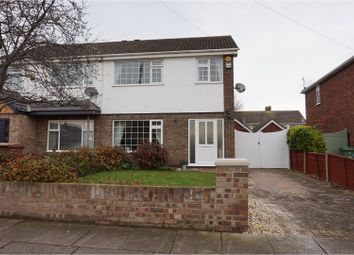Thumbnail 3 bed semi-detached house for sale in Thorganby Road, Cleethorpes