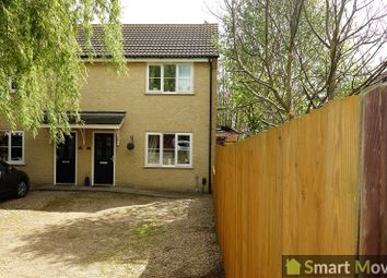 Thumbnail 2 bed semi-detached house to rent in Crossway Hand, Peterborough, Cambs.
