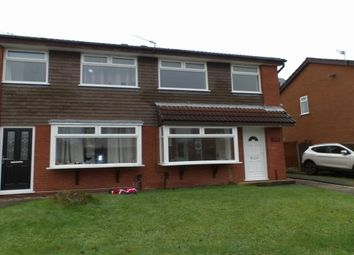 Thumbnail 3 bedroom property to rent in Montrose Close, Fearnhead, Warrington