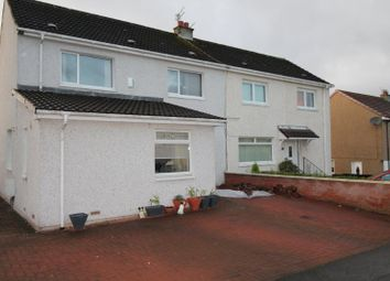 Thumbnail 3 bed semi-detached house for sale in Scarhill Avenue, Airdrie, North Lanarkshire