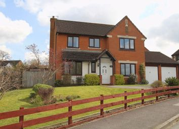 Thumbnail 4 bed detached house for sale in Rodway, Wanborough, Swindon