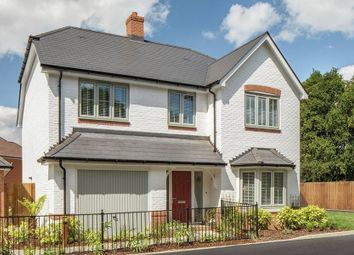 "Thumbnail 4 bed detached house for sale in ""The Pebworth"" at St. Legers Way, Riseley, Reading"