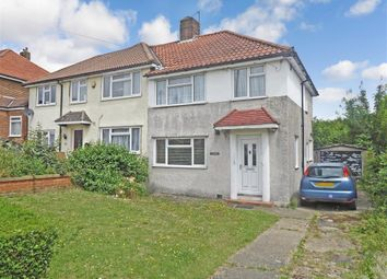 Thumbnail 3 bed semi-detached house for sale in Salcot Crescent, New Addington, Croydon, Surrey