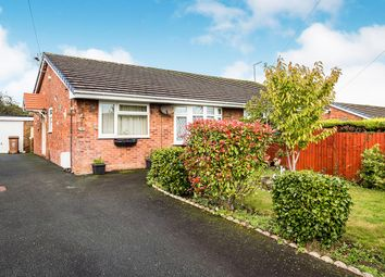 Thumbnail 2 bed bungalow for sale in Meadow Close, Oswestry, Shropshire