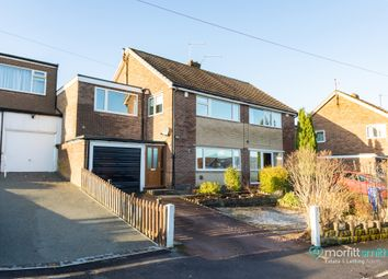 Thumbnail 4 bed semi-detached house for sale in Everard Avenue, Bradway, - Viewing Essential