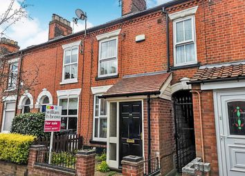 Thumbnail 3 bed terraced house for sale in Glebe Road, Norwich