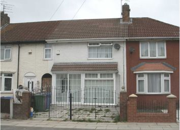 Thumbnail 3 bed terraced house to rent in Drake Road, Fazakerley, Liverpool