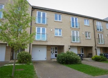Thumbnail 4 bedroom town house for sale in Little Paxton, St Neots, Cambridgeshire