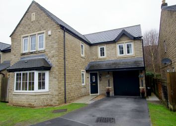Thumbnail 4 bed detached house for sale in Brookwater Close, Halifax