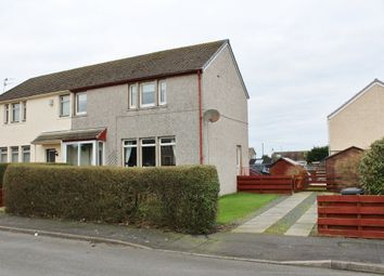 Thumbnail 3 bed semi-detached house for sale in 15 Lochview Road, Stranraer
