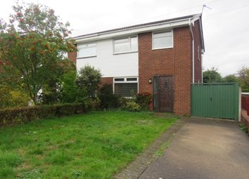 Thumbnail 3 bed semi-detached house for sale in Lloyd Drive, Greasby, Wirral
